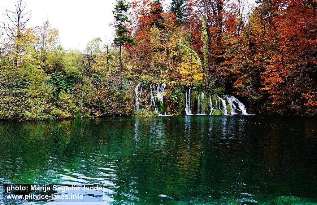 Waterfall at Plitvice in Autumn (2016)