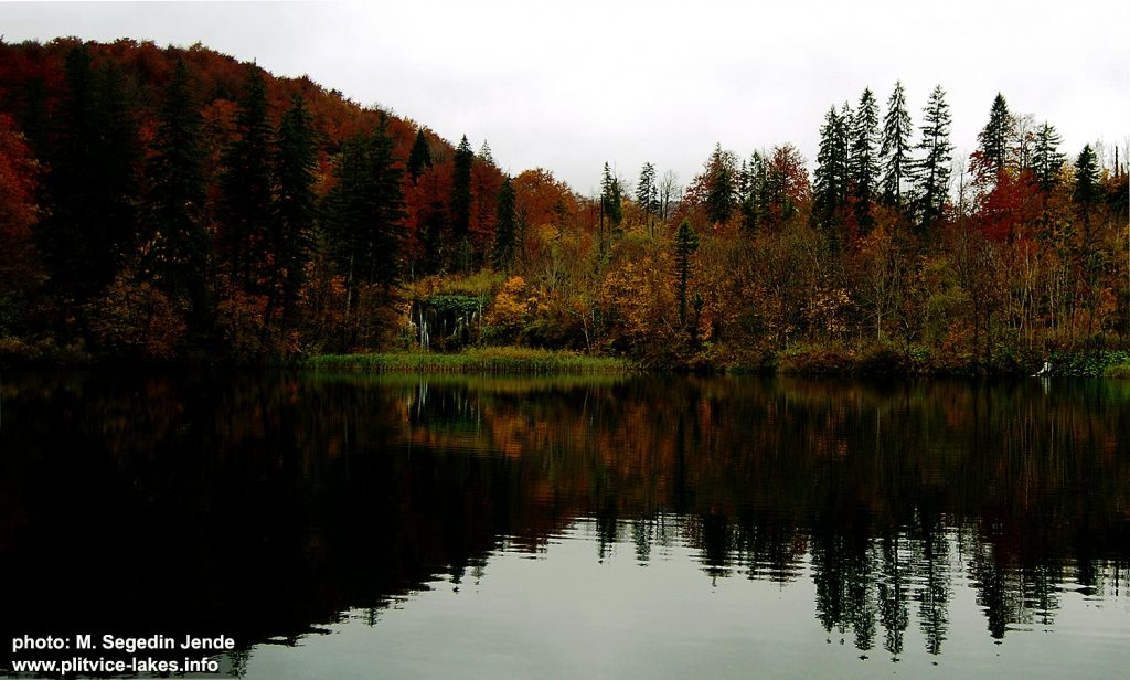 Autumn at Lake Galovac, Plitvicka Jezera
