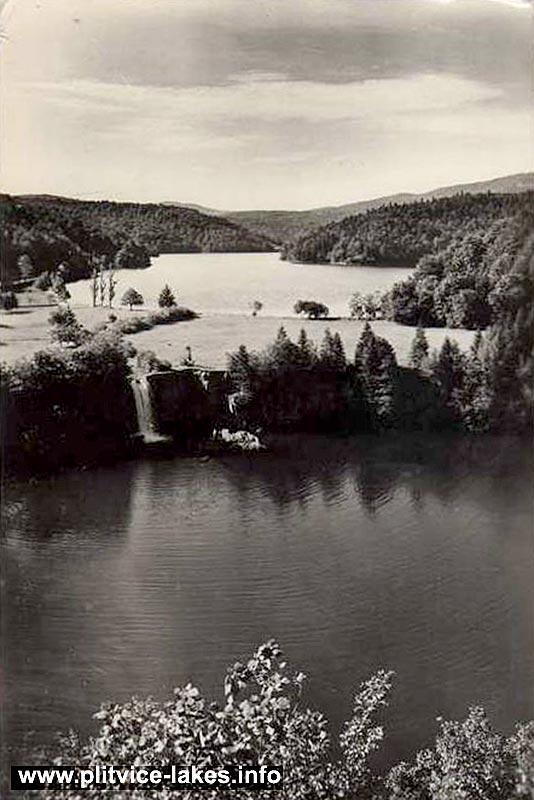 Ciginovac jezero (Ciginovac Lake) in 1960s