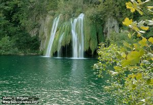 Waterfall @ Ciganovac Lake @ Plitvicka Jezera National Park