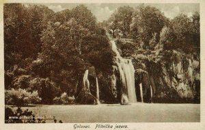 Galovacki Buk Waterfall in 1930s