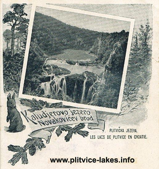 Kaludjerevo Jezero and Novakovica Brod (1900)