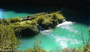 Barrier path between Kaluđerovac and Novakovica Brod lakes @ Plitvice Lakes, Croatia