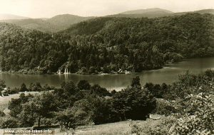 Panorama of Kozjak Lake @ Plitvicka Jezera (1960s)