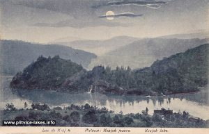 Panorama of Kozjak and surroundings, Plitvice (1900s)
