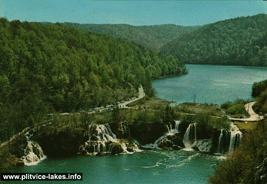 Panorama of Kozjak (1970s) Milanovački Slap Waterfall