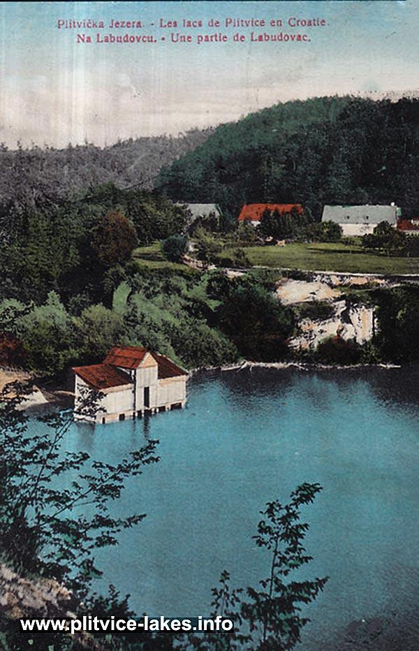 Labudovac barrier @ Ciginovac Lake, Plitvice 1901