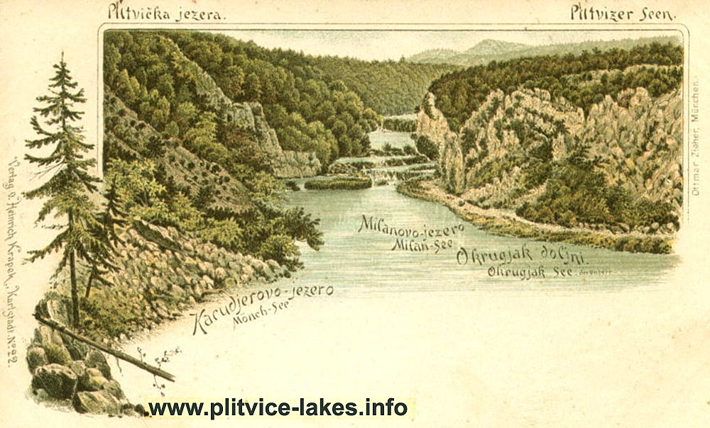 Lower Lakes @ Plitvice (1900s)