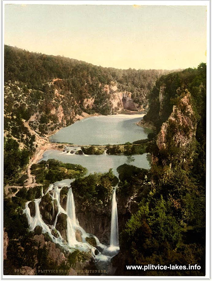Lower Lakes Plitvice National Park (1900s) - Print
