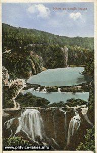 Panorama Lower Lakes - Novakovica Brod and Kaludjerovac - Plitvice 1902