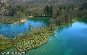 Panorama of Okrugljak Lake at Plitvice