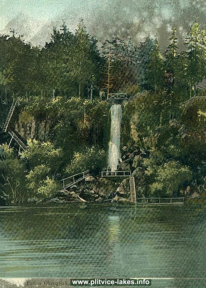Okrugljak and Waterfall (1906)