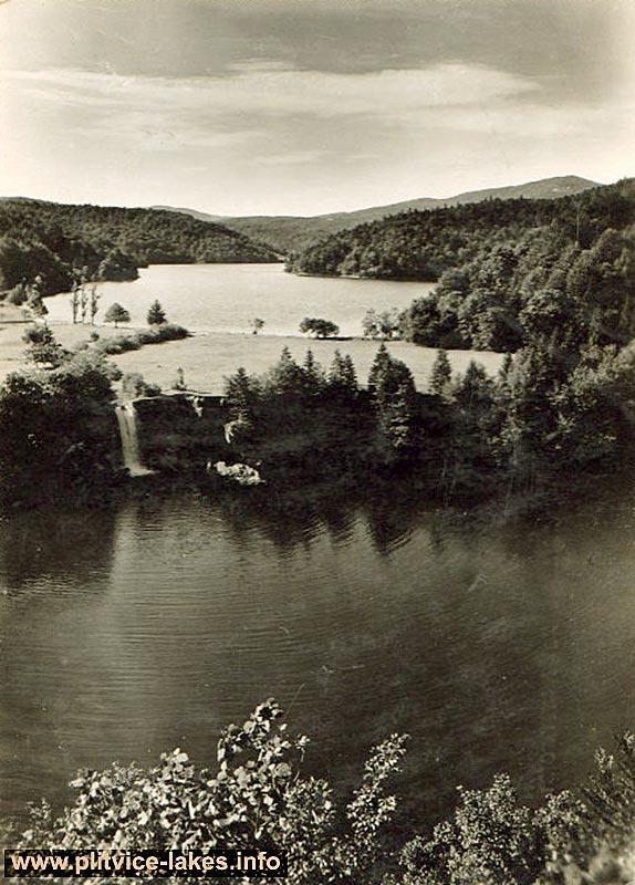 Proscansko Lake - Plitvicka Jezera National Park (1930s)