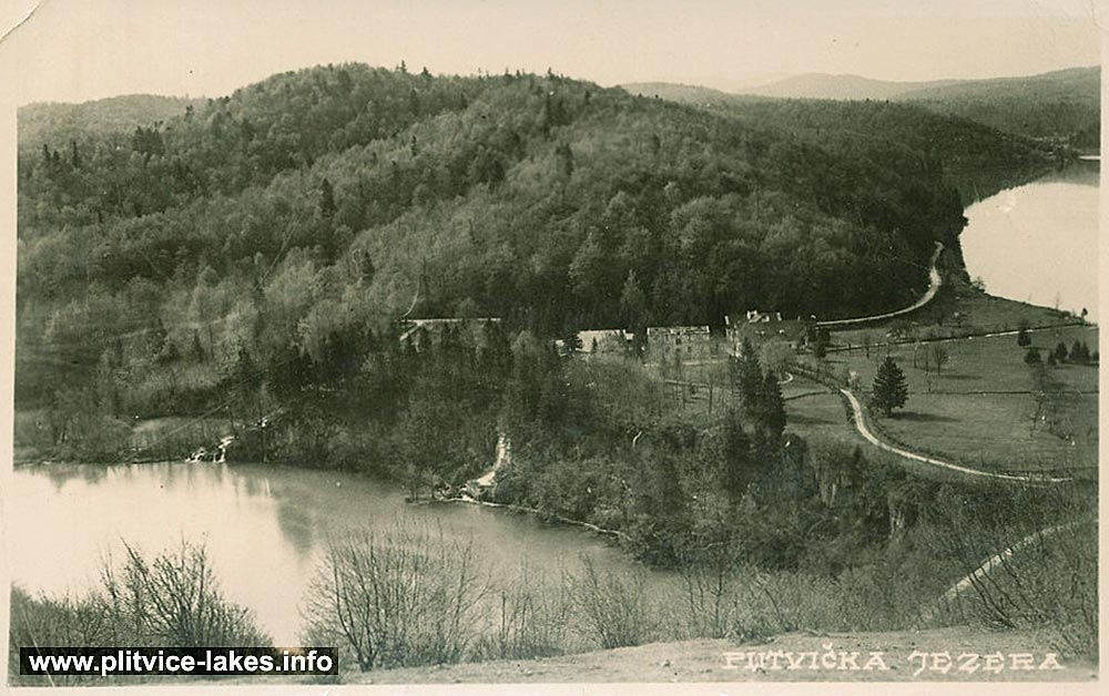 Proscansko Jezero - Plitvice Lakes (1930s)
