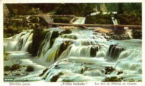 Velika Kaskada (Great Cascade) at Plitvice Lakes (1904)