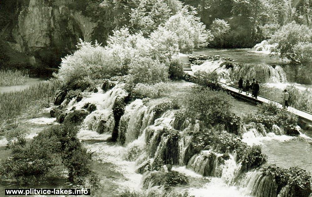 Velika Kaskada @ Plitvice (1960s)