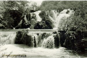 Spring waters - detail @ Milke Trnine Waterfalls (1960s)