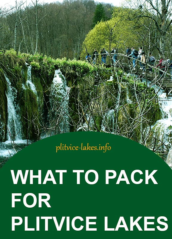 what to pack for plitvice